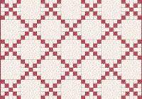 Unique single irish chain quilt patterns and blocks 11   Irish Chain Quilt Pattern Gallery