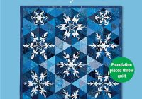 Unique snowflakes quilt pattern download 11 Cozy Snowflake Quilting Pattern Gallery