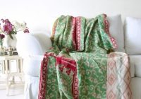 Unique wai vintage kantha throw quilt 9 Stylish Vintage Kantha Quilts Gallery
