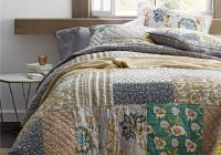 us 1730 27 offvintage patchwork bedspread quilt set 3pcs quilted bedding handmade cotton quilts bed covers king size 234269 coverlet blanket in Vintage King Size Quilts Inspirations