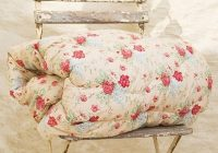 vintage floral eiderdown quilt vintage floral vintage Modern Vintage Floral Quilt Inspirations