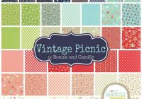 vintage picnic layer cake bonnie and camille for moda Unique Moda Vintage Picnic Quilt Gallery