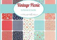 vintage picnic smitten in green sku 55127 14 cotton Unique Moda Vintage Picnic Quilt Gallery