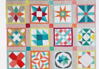 vintage quilt revival 20 different blocks featured at v Stylish Vintage Quilt Blocks Inspirations