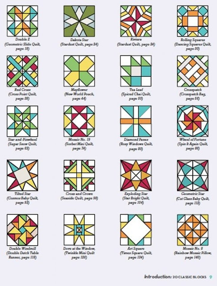 Permalink to Stylish Old Quilt Block Patterns Gallery