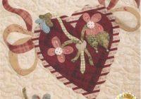 vintage valentine block 11 kit please note this kit is Cool Vintage Valentine Quilt Kit Gallery