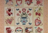vintage valentine block of the month 72 x 72 Unique Vintage Valentine Quilt Gallery