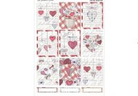 vintage valentine weekly sticker kit planner sticker kit vertical weekly stickers planner sticker kit weekly sticker set Cool Vintage Valentine Quilt Kit Gallery