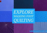 walking foot quilting how to quilt jagged plain free Cool Walking Foot Quilting Patterns Inspirations