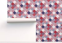 wallpaper usa americana patchwork red white blue quilt patterns Americana Quilt Patterns Gallery
