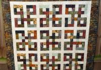 waste knot batik quilt reduced quilting batik quilts Stylish Waste Knot Quilt Instructions