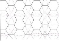 ways to quilt hexagons after your done piecing them hand Unique Hexagon Pattern For Quilting