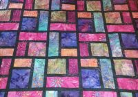 wedding gift stained glass quilt quilts batik quilts 10 Unique Quilt Patterns Using Batiks