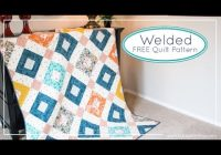 welded free quilt pattern for art gallery fabrics and fat quarter shop agf stitched Stylish Youtube Quilting Patterns Inspirations