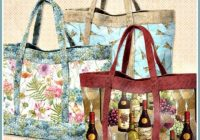 wilmingtons basic quilted tote bags quilted purse Unique Quilted Purses And Handbags Patterns Gallery