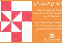 windmill quilt block tutorial 4 6 and 8 finished Interesting Windmill Quilt Block Pattern Gallery