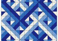 woven half square triangles quilting half square Half Triangle Square Quilt Patterns