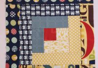 you cant miss this free quilt in a day log cabin tutorial Unique Log Cabin Square Quilt Inspirations