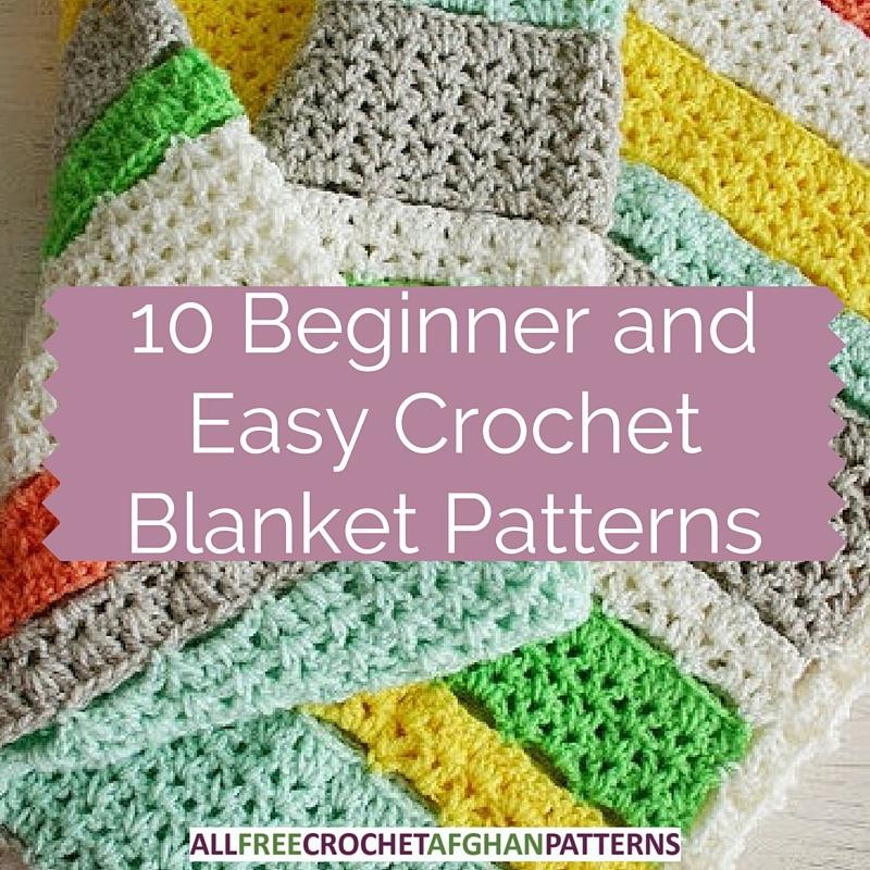 10 beginner and easy crochet blanket patterns stitch and Unique Crochet Quilt Patterns Beginners