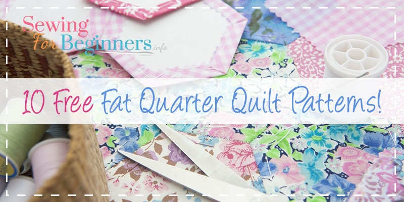 10 free fat quarter quilt patterns projects Cozy Fat Quarter Quilt Patterns Beginners Gallery