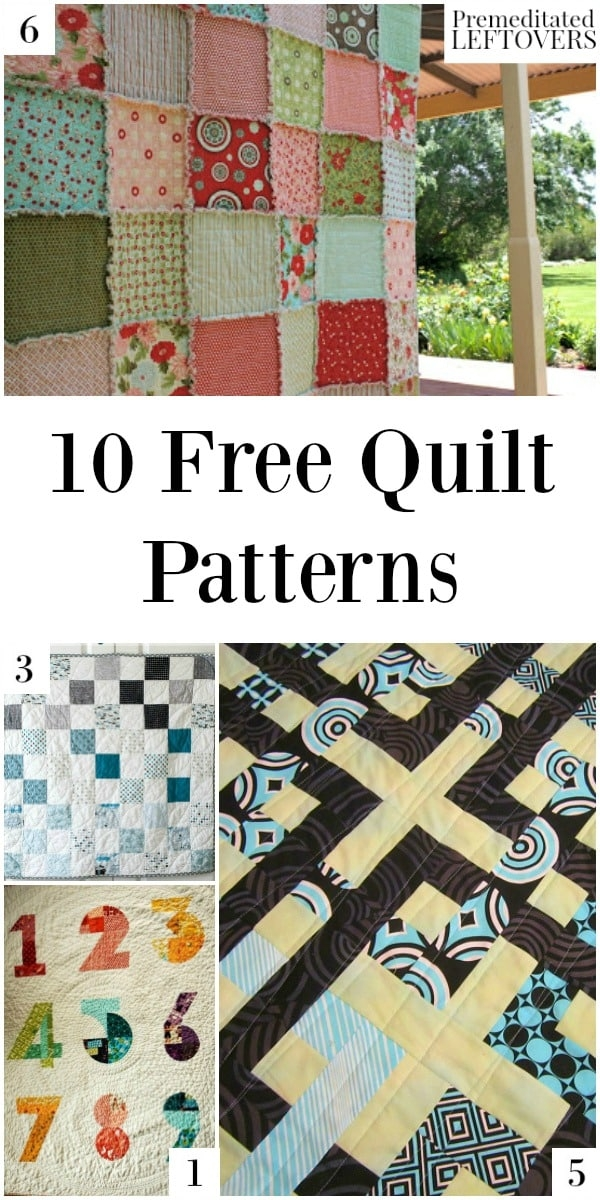 10 free quilt patterns Stylish Patchwork Quilt Patterns Free Inspirations