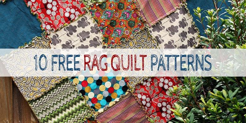 10 free rag quilt patterns tutorials for beginners Rag Quilt Patterns Instructions Inspirations