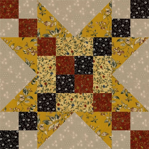 12 frayed sawtooth star quilt block pattern Interesting 12 Inch Quilt Block Patterns Inspirations