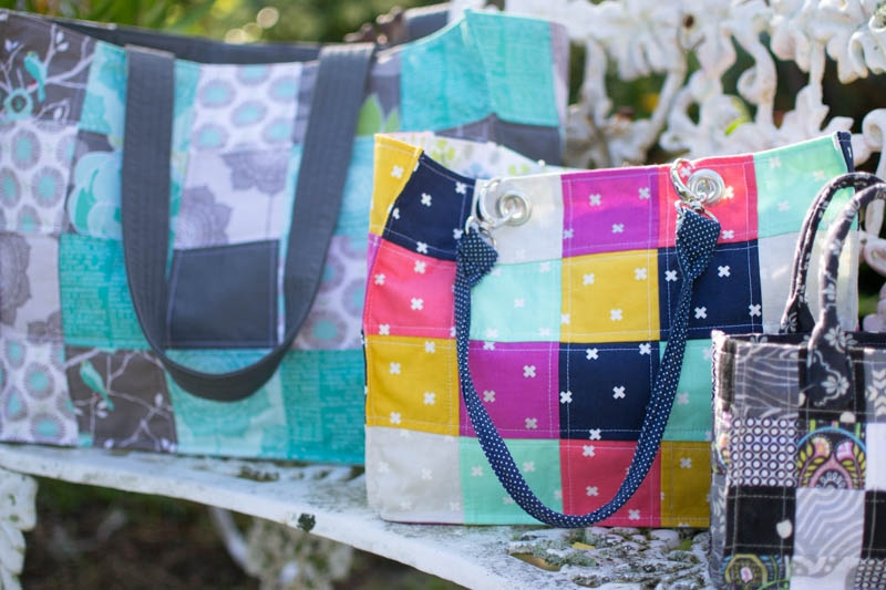14 free tote bag patterns you can sew in a day plus tips Unique Pattern For Quilted Tote Bag