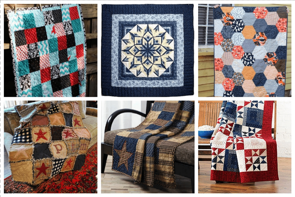 16 country quilts you can make this fall ideal me Stylish Country Patchwork Quilt Patterns