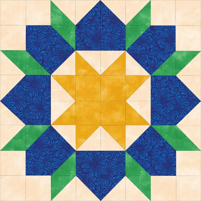 16 inch swoon block using 2 12 inch triangles and squares Elegant 16 Inch Quilt Block Patterns Inspirations