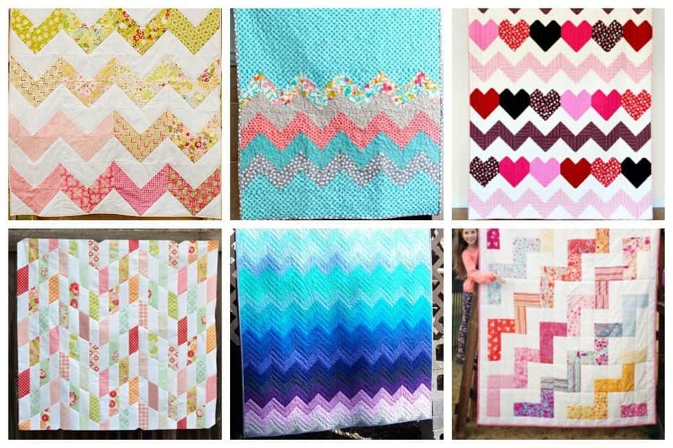 17 chevron quilt patterns perfect for any occasion ideal me Stylish Pattern For Chevron Quilt