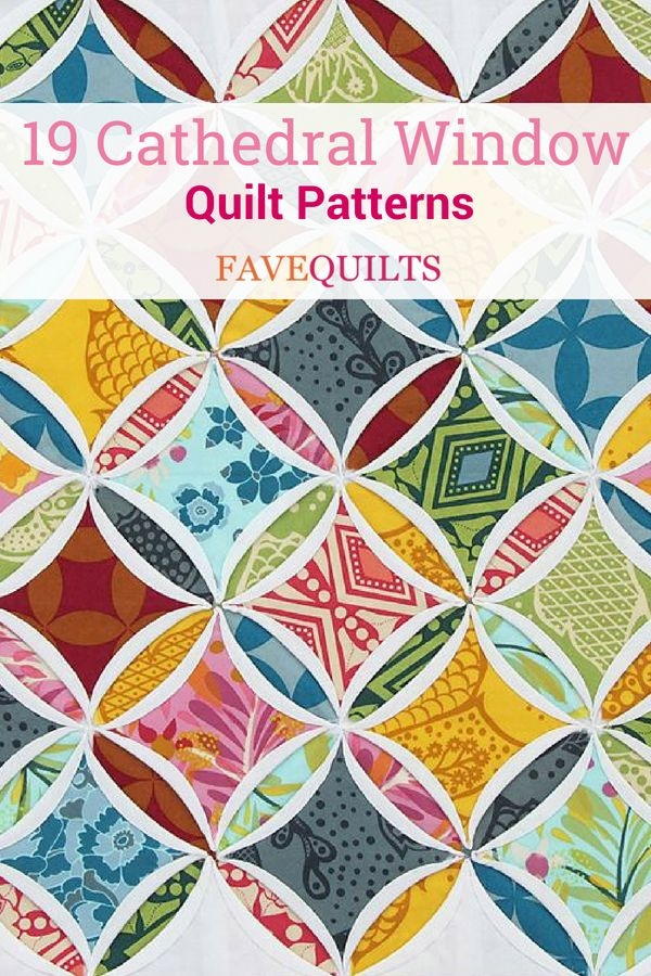 19 cathedral window quilt patterns traditional quilt Cozy Cathedral Quilt Patterns Gallery