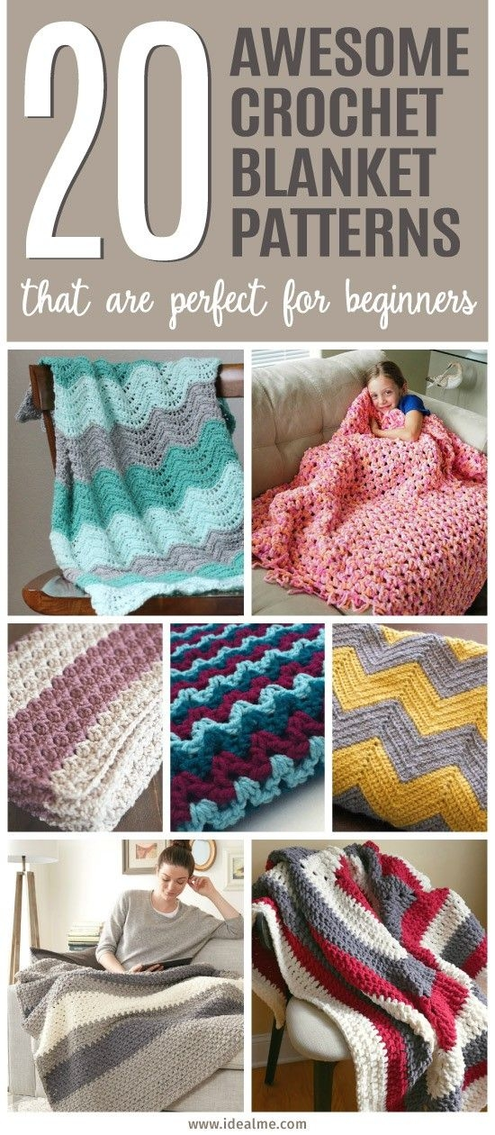 20 awesome crochet blanket patterns for beginners crochet Unique Crochet Quilt Patterns Beginners