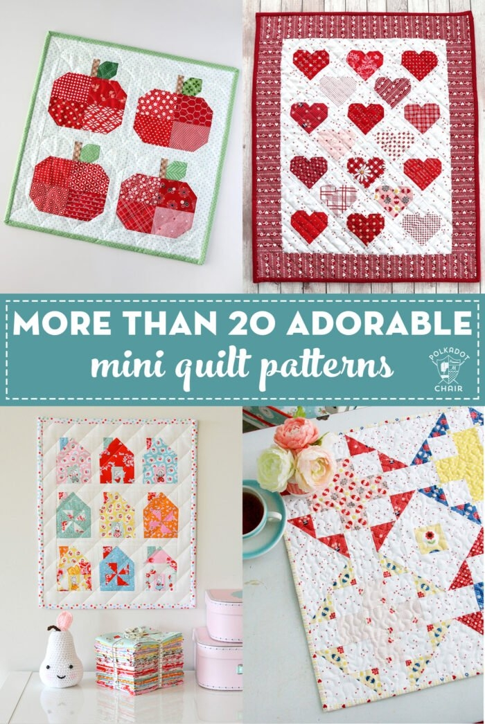 20 mini quilt patterns you can make in a weekend the Interesting Miniature Quilt Block Patterns Inspirations