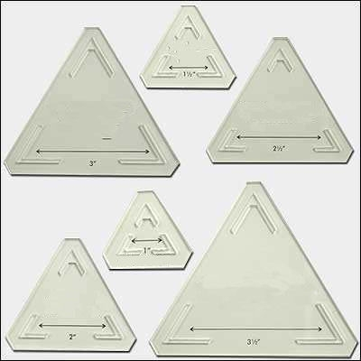 25 images of quilting triangle template printable free Triangle Template For Quilting