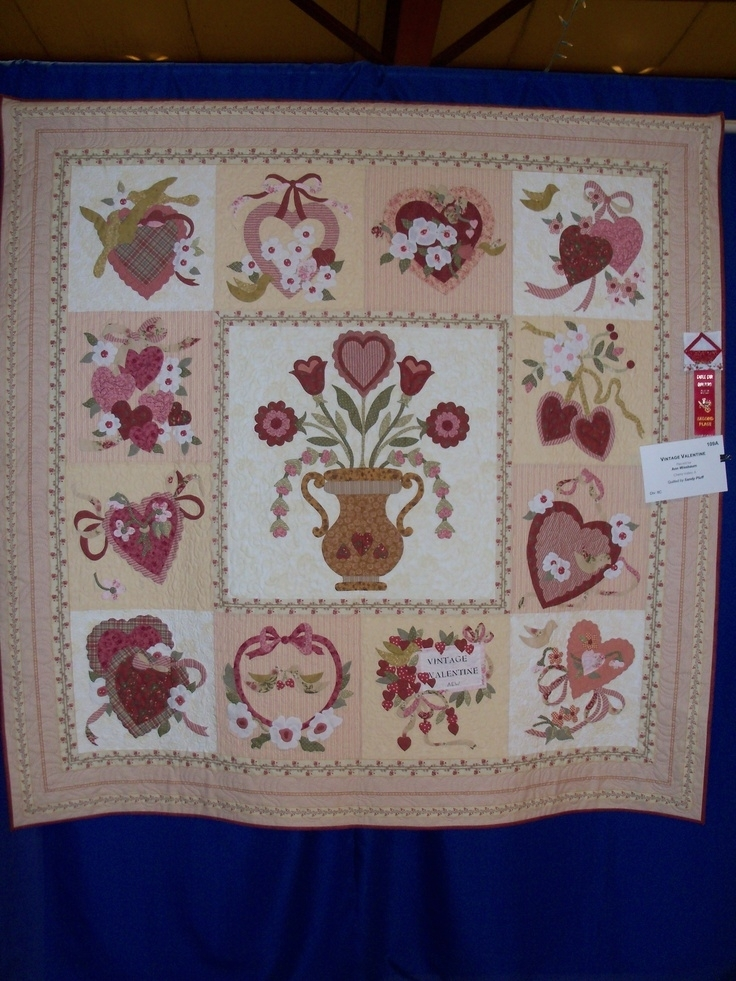 25 images of verna mosquera vintage valentine quilt kit Cool Vintage Valentine Quilt Kit Gallery