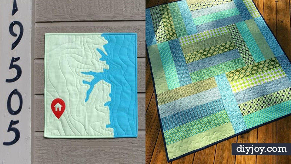 34 easy quilt ideas for beginners with free quilt patterns Unique Easy Patchwork Quilt Patterns Beginners Inspirations