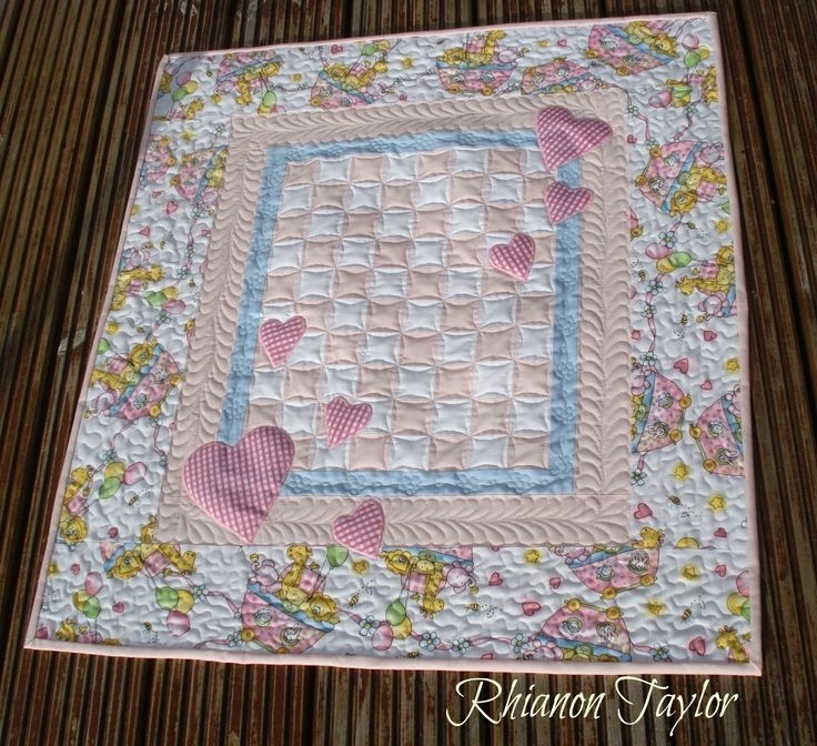 358 best quilts for children images on pinterest ba girl Stylish Cot Quilt Patchwork Patterns Inspirations
