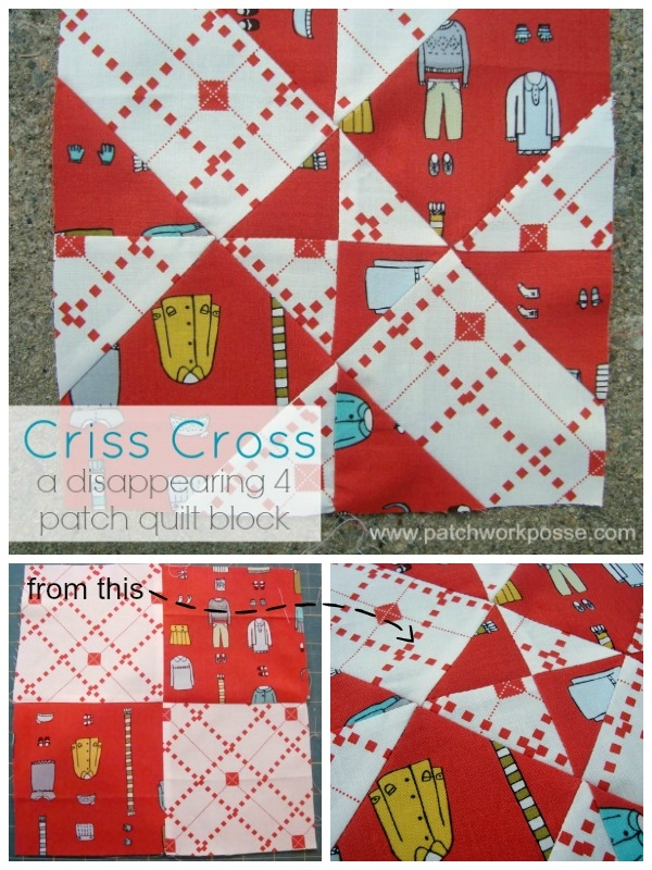 4 patch disappearing quilt block criss cross Cool Four Patch Quilt Block Patterns Inspirations