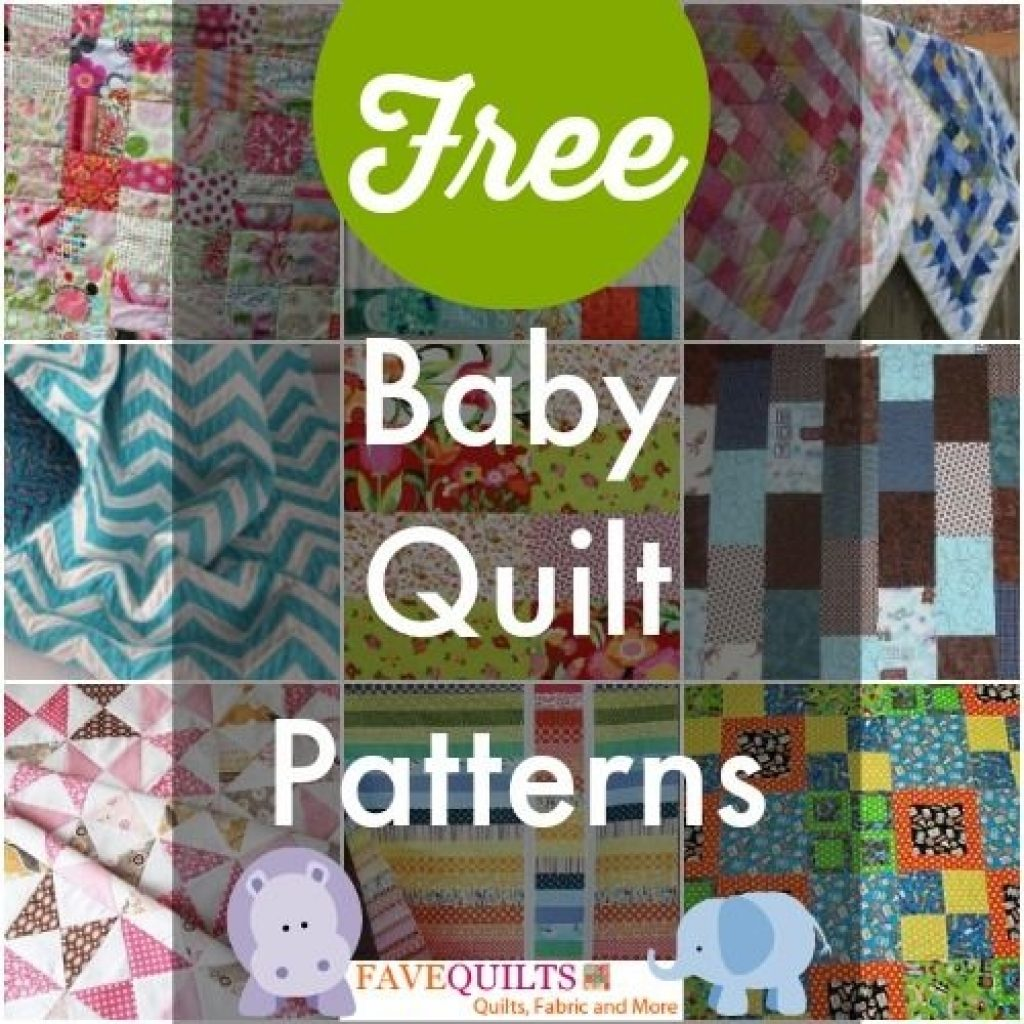 40 free ba quilt patterns quilty things free ba Elegant Patchwork Cot Quilt Patterns Free Inspirations