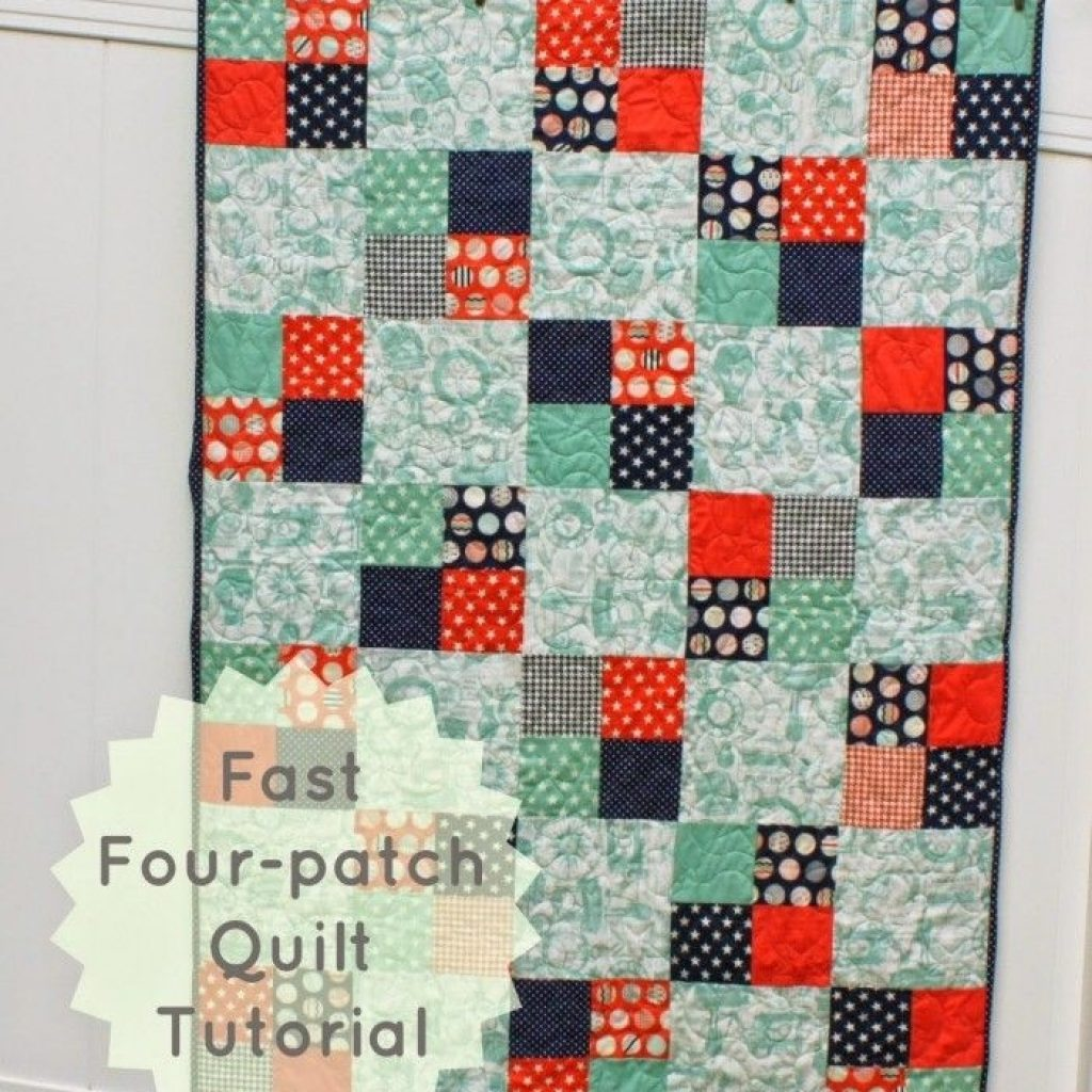 45 easy beginner quilt patterns and free tutorials things Interesting Beginner Quilting Patterns Inspirations