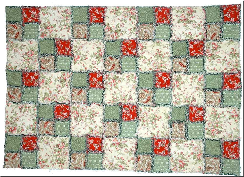 5 free rag quilt patterns to help you make cuddly quilts Unique Rag Quilt Pattern Instructions
