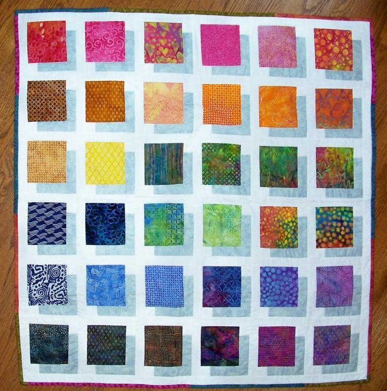 5 quilted wall hanging patterns for the home Unique Wall Hanging Quilt Pattern Inspirations