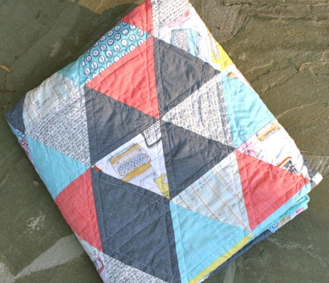 60 degree triangle quilt whipstitch Cozy Quilt Patterns Using 60 Degree Triangle Inspirations