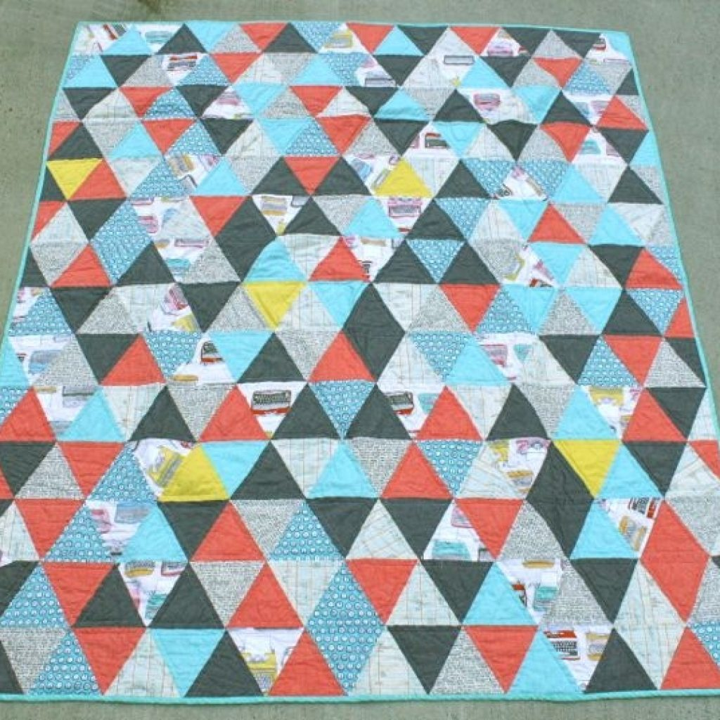 60 degree triangle quilt whipstitch Elegant 60 Degree Triangle Quilt Inspirations