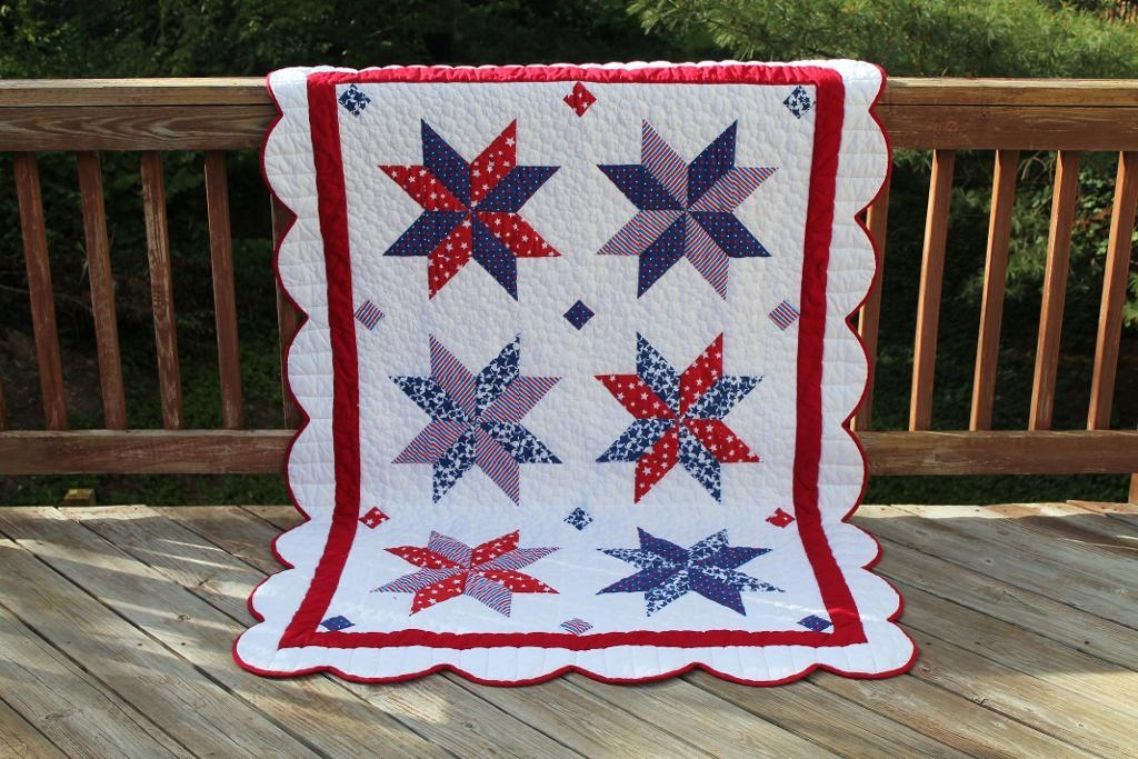 7 perfectly patriotic quilt patterns Elegant Patriotic Quilts Patterns