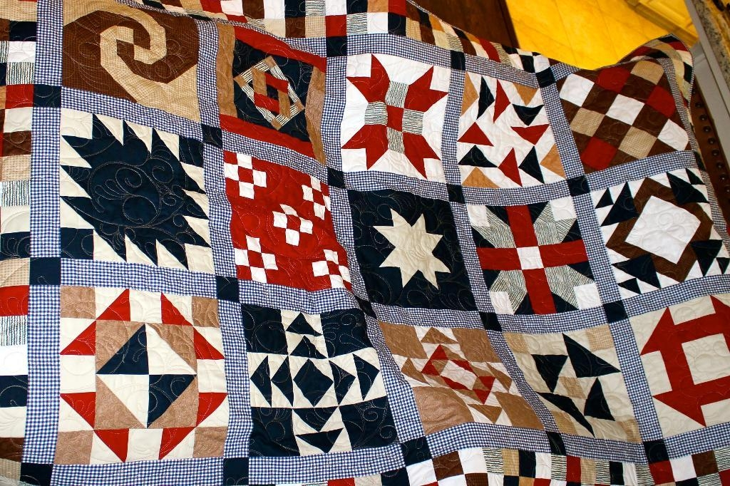 7 stunning sampler quilt patterns Cozy Sampler Quilt Block Patterns Gallery