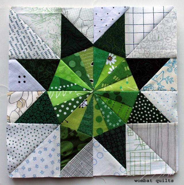 8 inch star block wombat quilts paper pieced with free pdf Unique Free Wombat Quilt Block Patterns Inspirations
