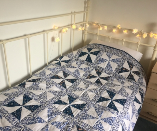 a beautiful quilt made with our william morris fabric Cool William Morris Quilt Patterns Inspirations