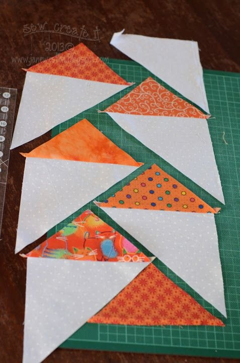 a brilliantly simple technique for migrating geese great Cool Migrating Geese Quilt Pattern